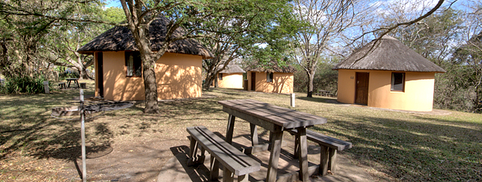 2 Bed Rondavels Hilltop Camp Accommodation Booking Rondavels Hluhluwe iMfolozi uMfolozi Game Reserve Game Park