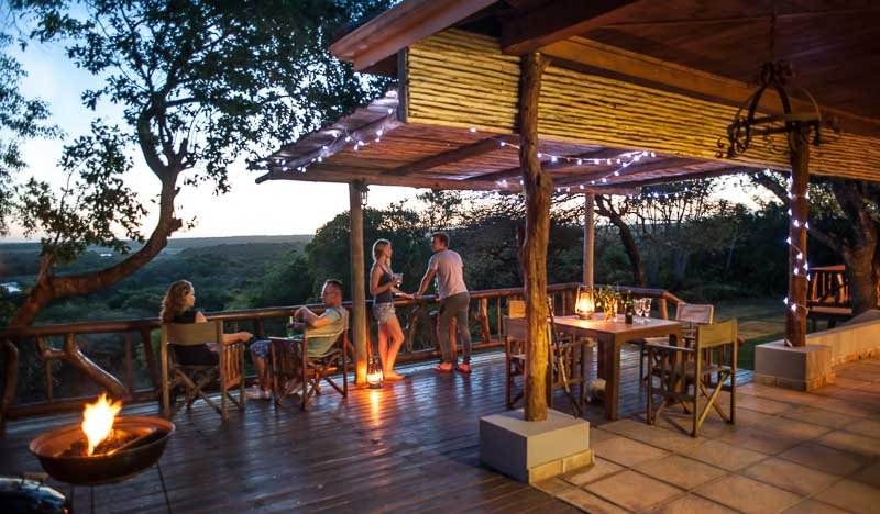 View Deck - Mkhulu's House @ Hluhluwe River Lodge