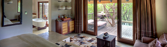 Phinda Mountain Lodge Suite Bathroom Deck Phinda Private Game Reserve Big 5 Luxury Lodge African Safari South Africa