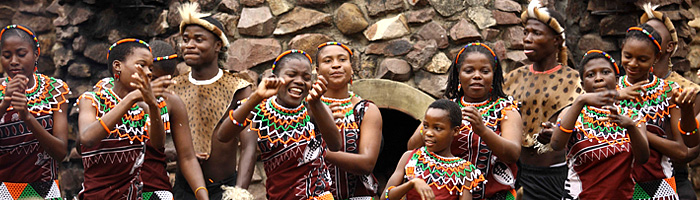 Phinda Mountain Lodge Zulu Culture Zulu Dancing Phinda Private Game Reserve Big 5 Luxury Lodge African Safari South Africa