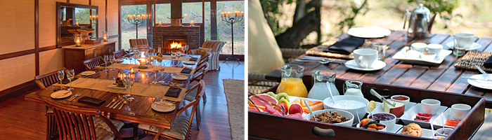 Phinda Vlei Lodge Dining Room Breakfast Phinda Private Game Reserve