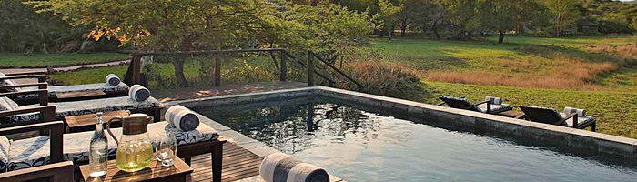 Swimming pool Phinda Zuka Lodge Phinda Private Game Reserve