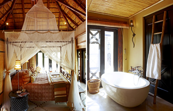 Luxury Suite Bathroom Thanda Private Villa iZulu Exclusive-Use Thanda Private Game Reserve Accommodation Bookings