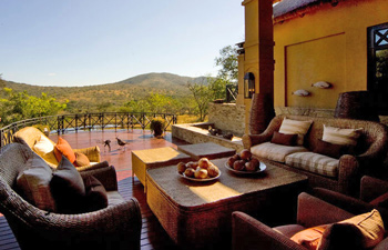 Private Deck view at Thanda Private Villa iZulu Exclusive Use Thanda Private Game Reserve Accommodation Bookings