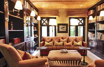 Library Thanda Private Villa iZulu Exclusive-Use Thanda Private Game Reserve Accommodation Bookings