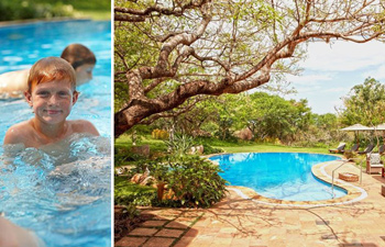 Swimming pool family Thanda Private Villa iZulu Exclusive Use Thanda Private Game Reserve Accommodation Bookings
