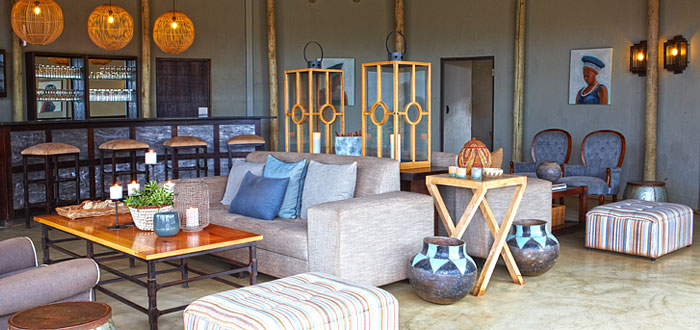 Main Camp Lounge Bar Area Thanda Tented Safari Camp Thanda Private Game Reserve KwaZulu-Natal Luxury Game Lodge