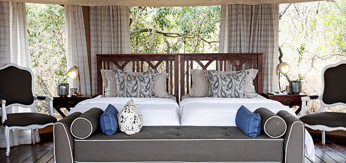 Standard Safari Tents Thanda Tented Safari Camp Thanda Private Game Reserve KwaZulu-Natal Luxury Game Lodge