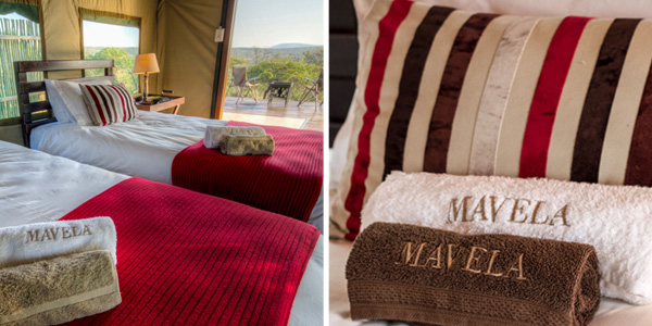 Luxury Towel Mavela Game Lodge Manyoni Private Game Reserve Zululand Rhino Reserve Luxury Tented Camp