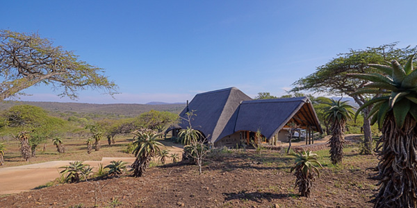 Mavela Game Lodge Main Lodge area Manyoni Private Game Reserve Zululand Rhino Reserve Luxury Tented Camp